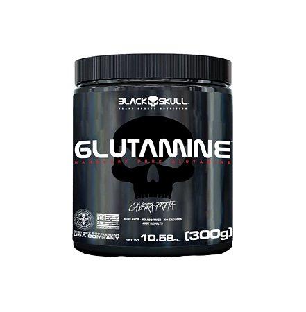 Glutamine (Glutamina) - 300g - Black Skull