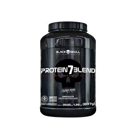 Whey Protein 7 Blend - 837g - Black Skull