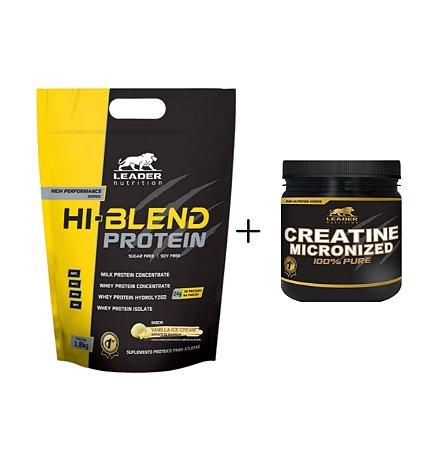 Hi Blend Protein - Leader Nutrition (Ganhe uma Creatina)