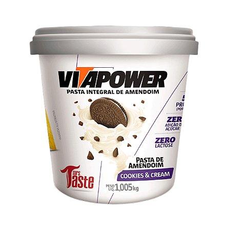 Pasta de Amendoim com Sabores - 1,005kg - Vitapower - Mrs Taste