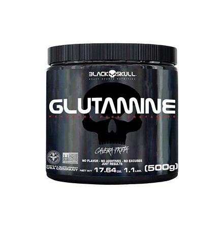Glutamine - 500g - Black Skull