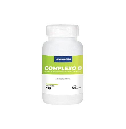 Complexo B - 120 cápsulas - NewNutrition