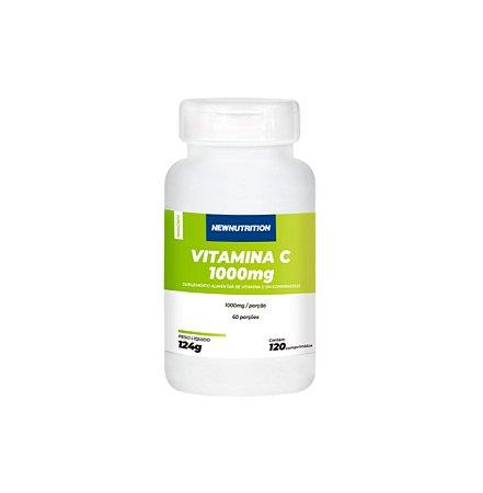 Vitamina C - 1000mg - 120 cápsulas - NewNutrition