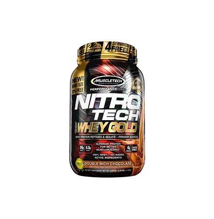 Nitro Tech 100% Whey Gold - 1,13kg - Muscle Tech