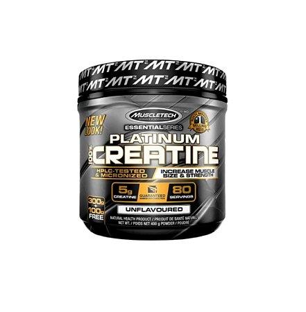 Platinum 100% Creatine - 400g - MuscleTech