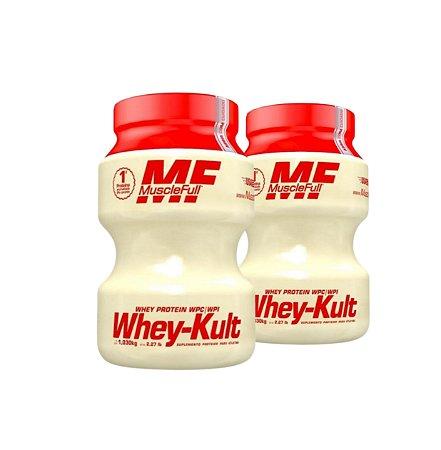 Combo 2 Whey- Kult - 1030g - MuscleFull