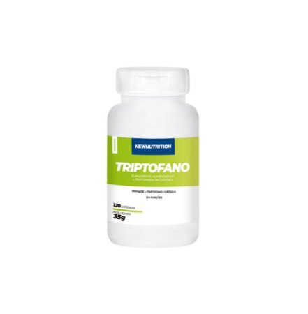 Triptofano - 120 cápsulas - NewNutrition