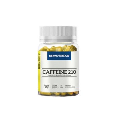 Cafeína - 210mg - 60 cápsulas - NewNutrition