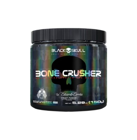 Bone Crusher - 150g - Black Skull (Wild Grape)