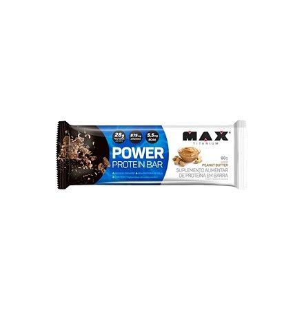 Power Protein Bar (Unidade 90g) - Max Titanium (Peanut Butter)