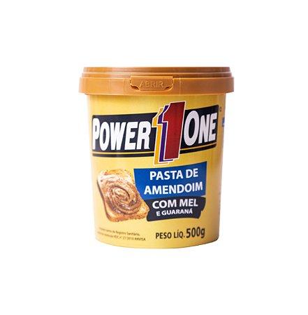 Pasta de Amendoim (Mel e Guaraná) - 500g - Power One