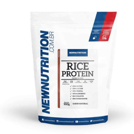 Rice Protein - 900g - NewNutrition (proteína vegana sabor natural)
