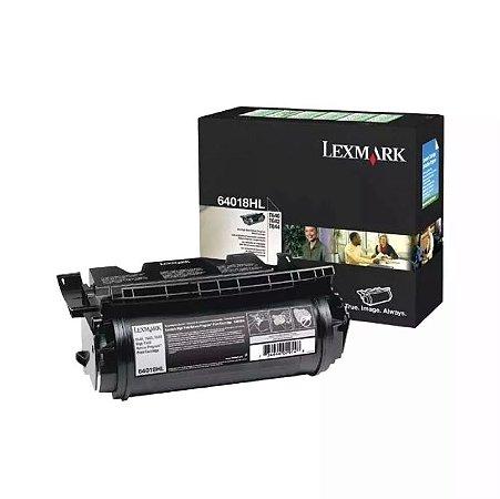 Cartucho De Toner T640 Lexmark Preto 64018hl