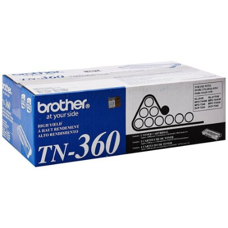 Toner Brother TN360 Preto  DCP7040  DCP7030 HL2140 HL2170W