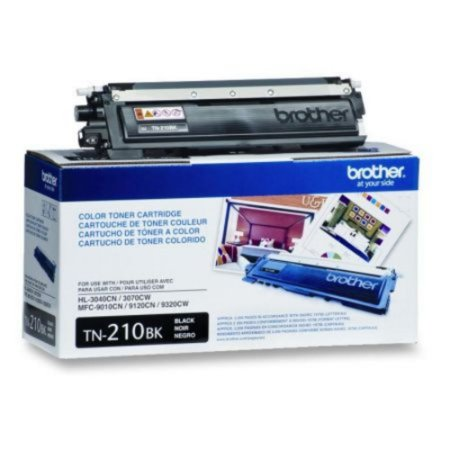 Toner Brother TN210BK - preto 2200 páginas - serie HL3040CN
