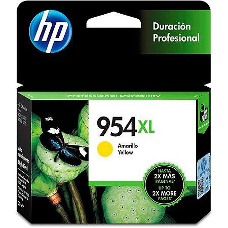 CARTUCHO DE TINTA OFFICEJET HP SUPRIMENTOS L0S68AB HP 954XL AMARELO