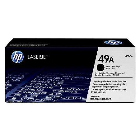 Toner Hp Q5949 49a Preto Laserjet 1160 1320 3390 3392