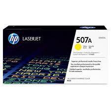 Toner Laserjet Color Hp Suprimentos Ce402a  Hp 507a Amarelo  M551dn / M551n / M575f