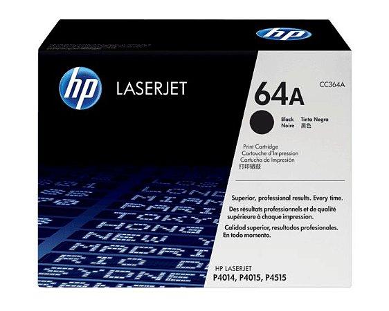 Toner HP 64A - CC364A Preto