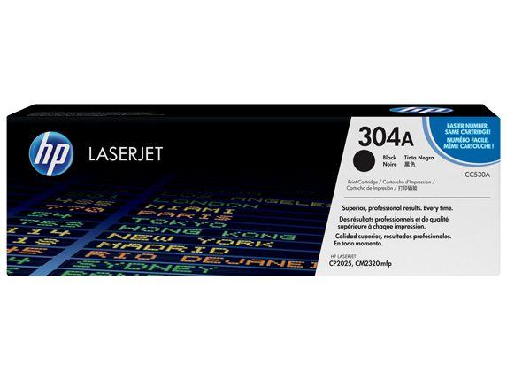 Toner Hp Cc530a 304a Preto Laserjet Color Cp2025 Cm2320