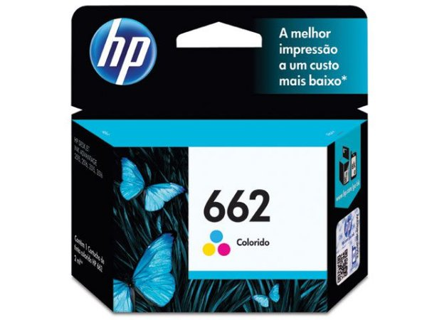 Cartucho De Tinta Ink Advantage Hp 662 Tricolor