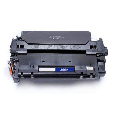 Toner Compatível Hp P3015n P3015dn P3015x Ce255a 55a - Preto