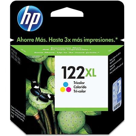 Cartucho HP 122 XL Tricolor Alto Volume - HP