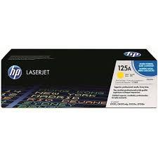 Toner HP  CB542A CB542AB 125A Amarelo| CM1312 CP1215 CP1518 CP1515