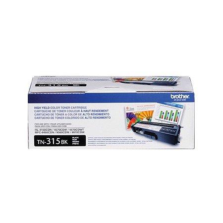 Toner Brother TN315 TN315BK Preto | HL4140 HL4150 HL4570 MFC9970 MFC9460 MFC9560