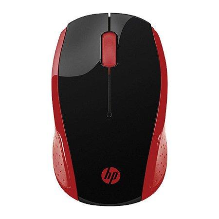 Mouse Sem Fio X200 Oman 2hu82aa Vermelho