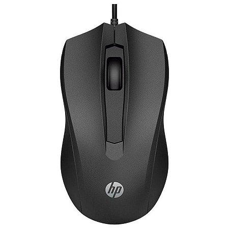 Mouse Com Fio Usb 100 1600dpi Cabo 1.5m Preto