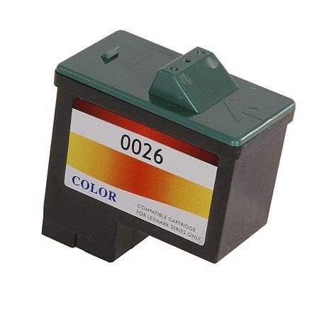 Cartucho Kenius LEX 0026 0027 Color Compatível