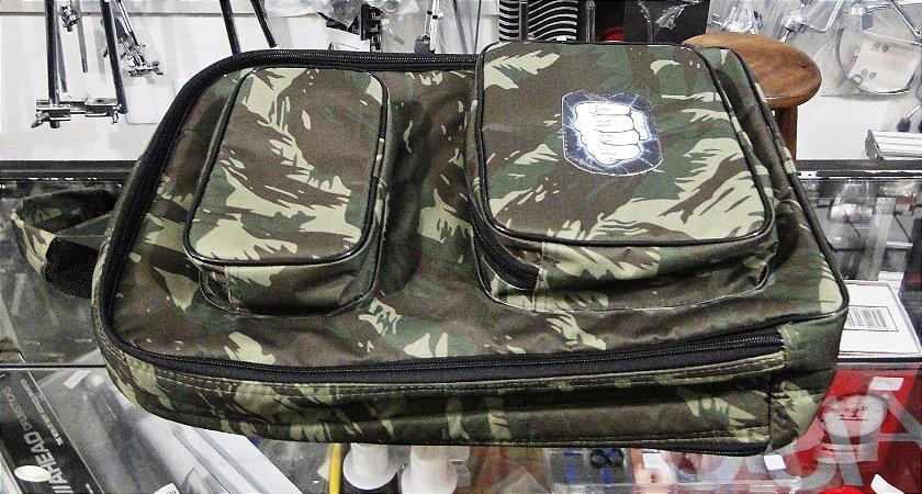 Bag P/ Baquetas e Acessorios Mochila Luxo Camuflada
