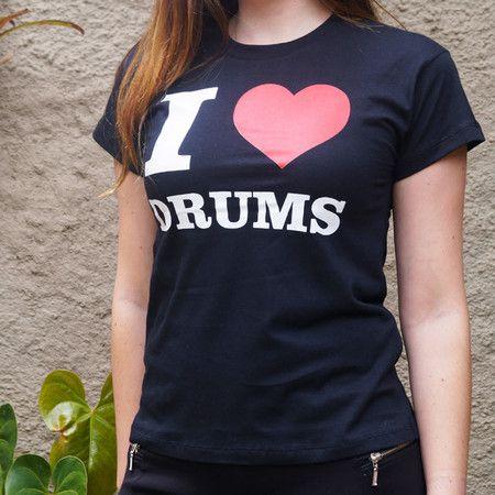 Baby Look I Love Drums