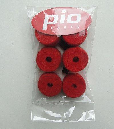 Feltros Pio Parts kit c/ 6 Feltros