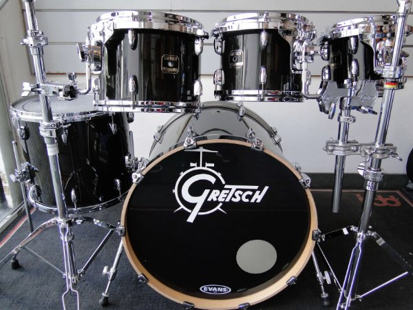 BATERIA GRETSCH RENOWN MAPLE BLACK SHELL PACK