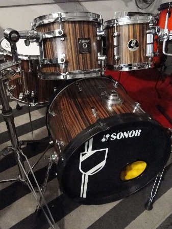 """BATERIA SONOR SONIC PLUS MADE IN GERMANY + TOM FORCE 3007 8"""""""