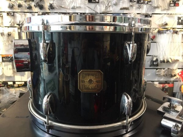 "Tom Gretsch 13""x9"" Anos 70 Maple USA +  Clamp Holder"