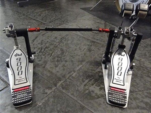 Pedal Duplo DW 9000 Double Chain (SEMINOVO)