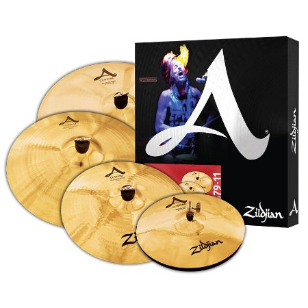 KIT DE PRATOS ZILDJIAN A CUSTOM - A20579-11