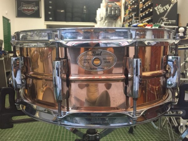 "Caixa Pearl Sensitone 14""x5""5"" Bronze Shell"