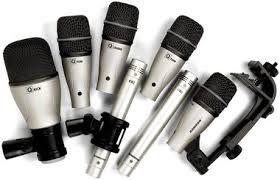 kit Microfones para Bateria Samson DK7