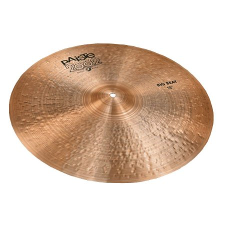 PRATO PAISTE 2002 BLACK BIG BEAT CRASH 18''