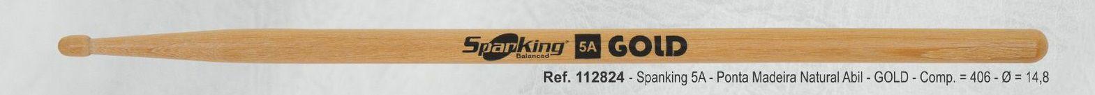 Baqueta Spanking Gold 5A Abiurana