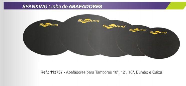 "KIT ABAFADOR  SPANKING PARA BATERIA  10"",12"",14"" ,16"" + BUMBO"