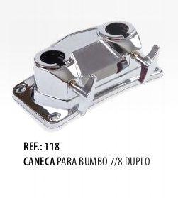 Caneca para Bumbo 7/8 Duplo Spanking