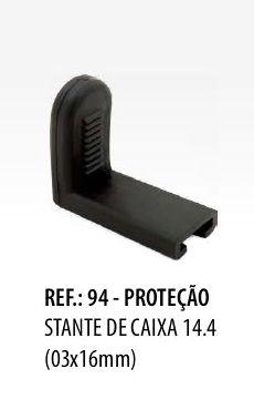 Borracha para Estante de Caixa Spanking 14.4 Pacote 3 unidade