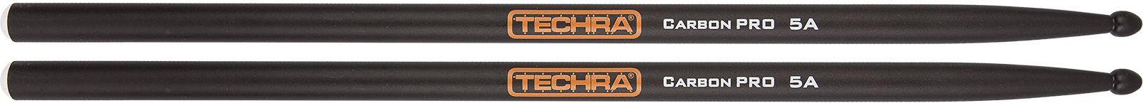 Baqueta Techra 5A Carbon Pro Fibra de Carbono