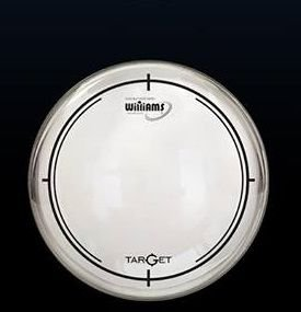 "Pele Williams 8"" Target Series Filme duplo Clear W2"