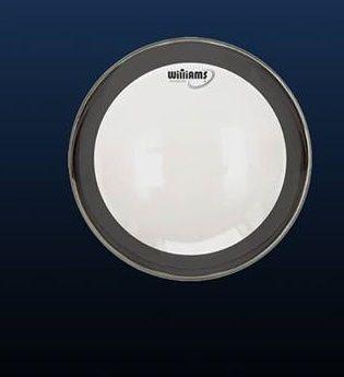 """Pele Williams 16"""" Filme simples com anel Abafador Black WC1SC"""